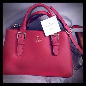 Kaye spade nwot red Classy purse